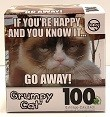 Quebra-Cabeças 100 peças - Sure-Lox, Grumpt Cat - If You're Happy