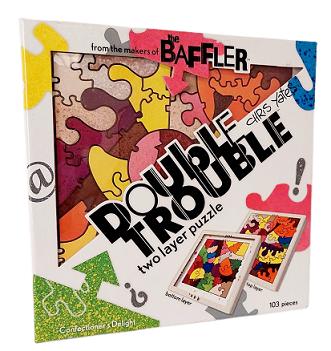 Quebra-Cabeças 103 peças - Double Trouble two Layers