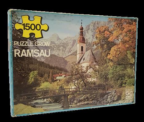 Quebra-Cabeças 1500 peças Grow - Ramsau