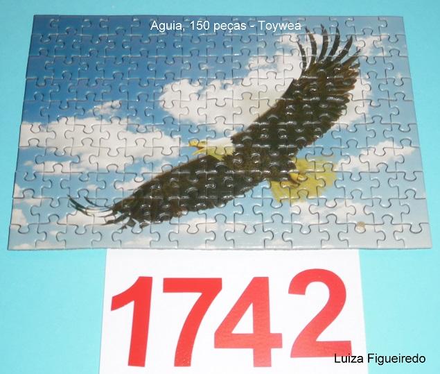 Quebra-Cabeças 150 mini peças - Toy Town - Aguia