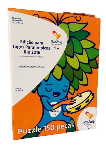 Quebra-Cabeças 150 peças - Grow - Edição Jogos Paralimpicos Rio 2016