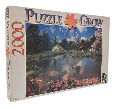 Quebra-Cabeças 2000 peças - Grow  - Lago Dolomitas