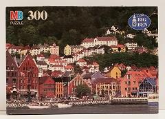 Quebra-Cabeças 300 peças - Milton Bradley - Bergen, Norway