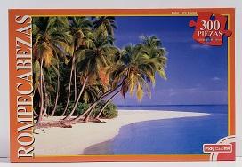 Quebra-Cabeças 300 peças - Play With Me - Palm Tree Island