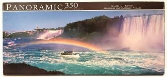 Quebra-Cabeças 350 peças - Panoramic - Niagara Falls Rainbow
