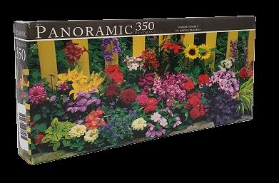 Quebra-Cabeças 350 peças - Panoramic - Summer's Garden