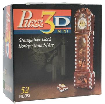 Quebra-Cabeças 3D 52 peças - Wrebbit - GrandFather Clock