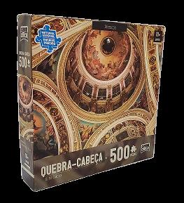Quebra-Cabeças 500 peças - Game Office - Afrescos