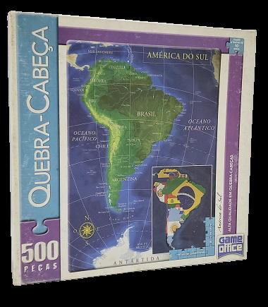 Quebra-Cabeças 500 peças - Game Office - América do Sul