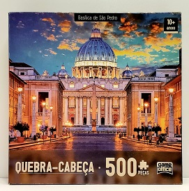 Quebra-Cabeças 500 peças - Game Office - Basilica de São Pedro