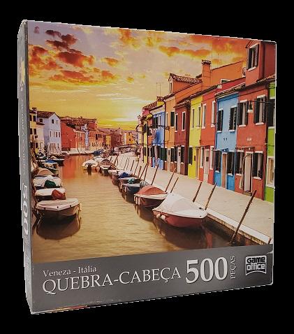 Quebra-Cabeças 500 peças - Game Office - Veneza - Itália