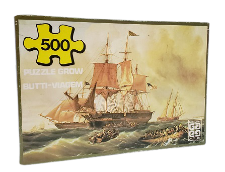 Quebra-Cabeças 500 peças - Grow - Butti Viagem