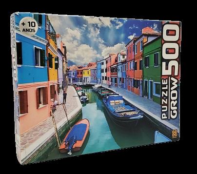 Quebra-Cabeças 500 peças - Grow - Canal de Burano