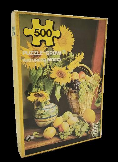 Quebra-Cabeças 500 peças - Grow - Natureza Morta ano 1979