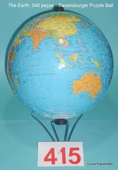 Quebra-Cabeças 540 peças - Ravensburger - PuzzleBall Mundo