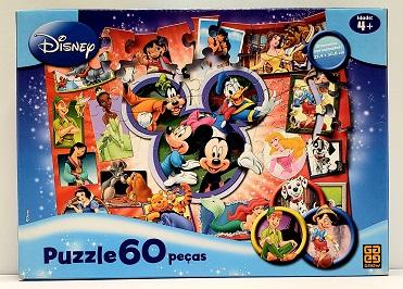 Quebra-Cabeças 60 peças - Grow - Disney