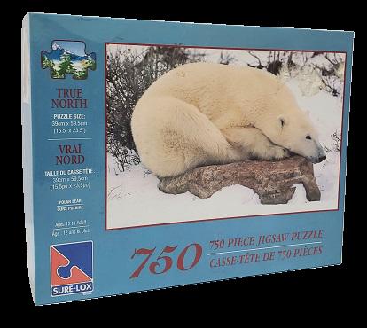 Quebra-Cabeças 750 peç;as - Sure-Lox - Polar Bear