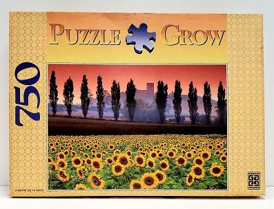 Quebra-Cabeças 750 peças - Grow - Girassóis