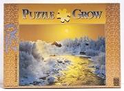 Quebra-Cabeças 750 peças - Grow - Paisagem de Inverno