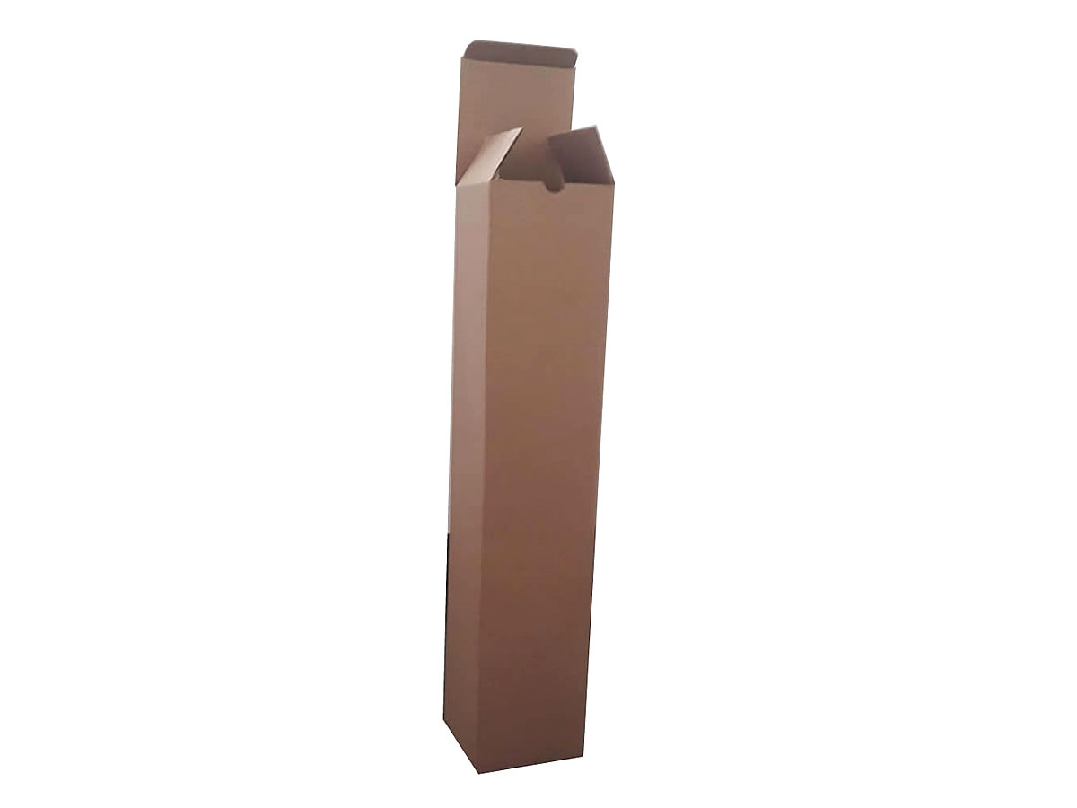 Lote de Caixas de Papelão 11x11x55 cm