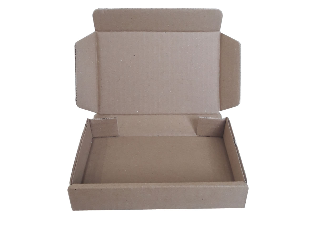 Lote de Caixas de Papelão 16x11x3 cm