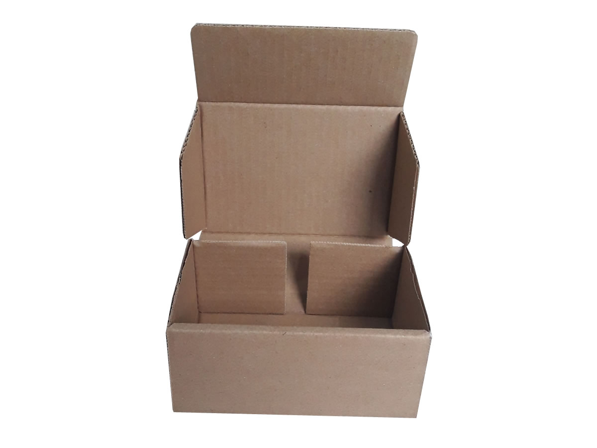 Lote de Caixas de Papelão 16x11x7 cm