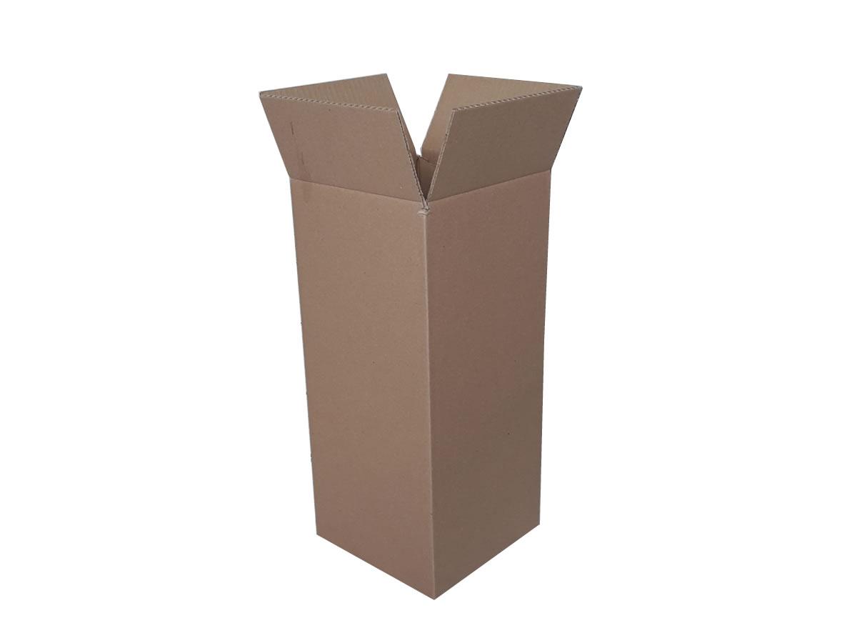 Lote de Caixas de Papelão 20x20x46 cm