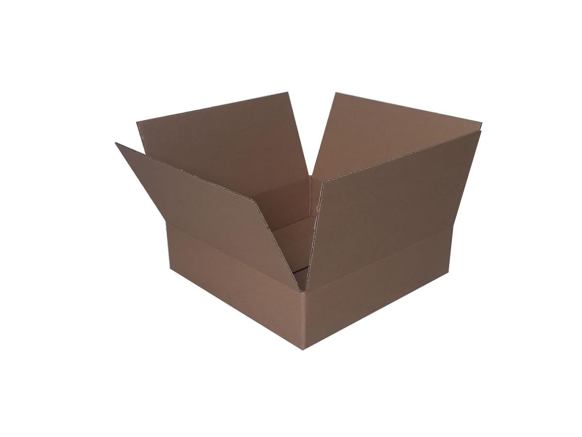Lote de Caixas de Papelão 40x40x10 cm