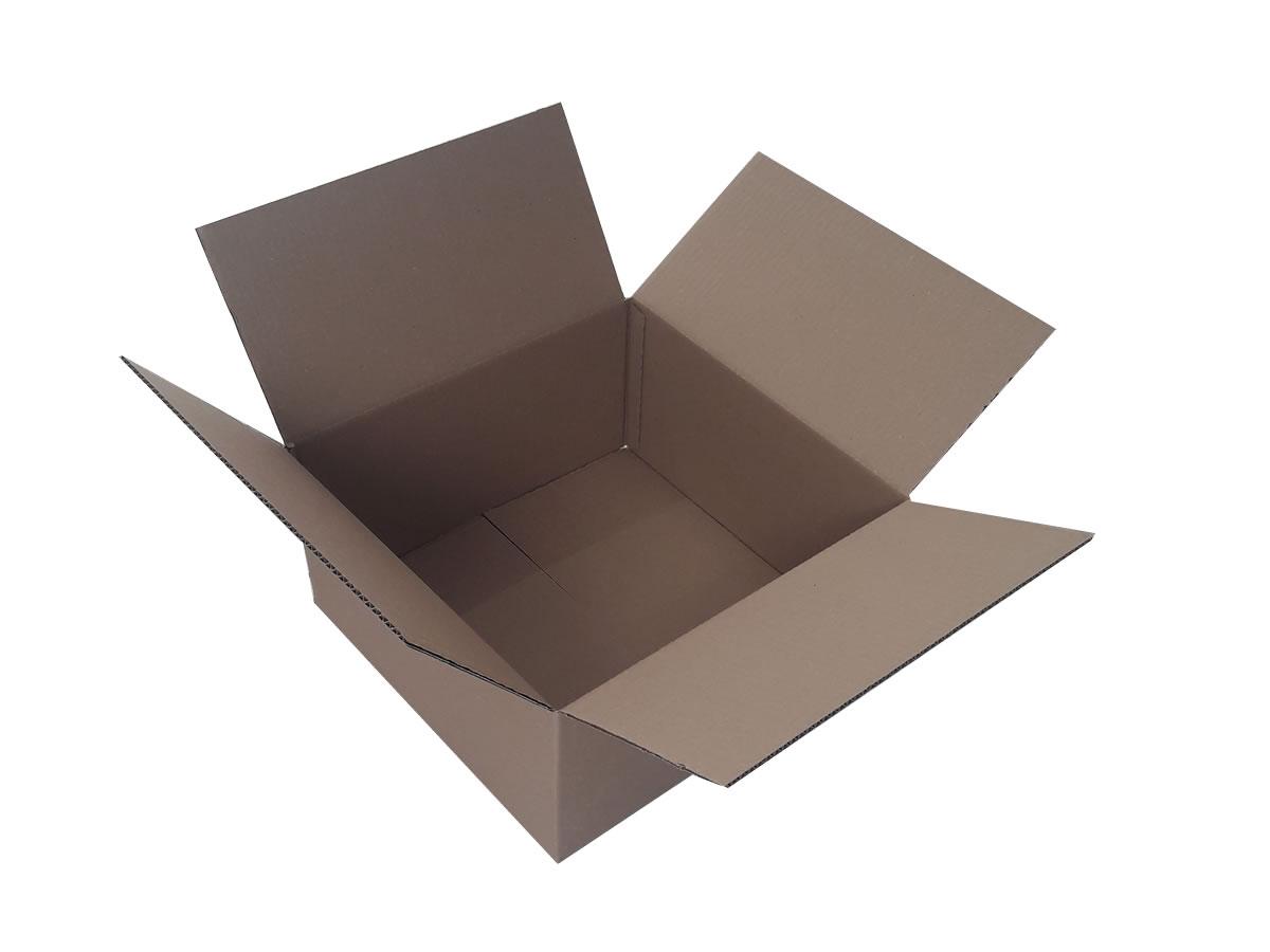 Lote de Caixas de Papelão 40x40x20 cm