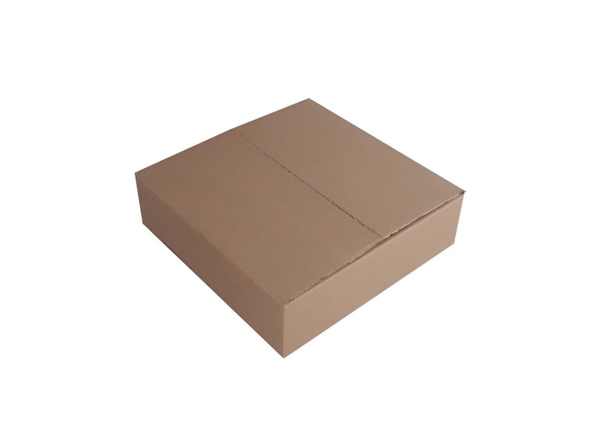 Lote de Caixas de Papelão 43x43x12 cm