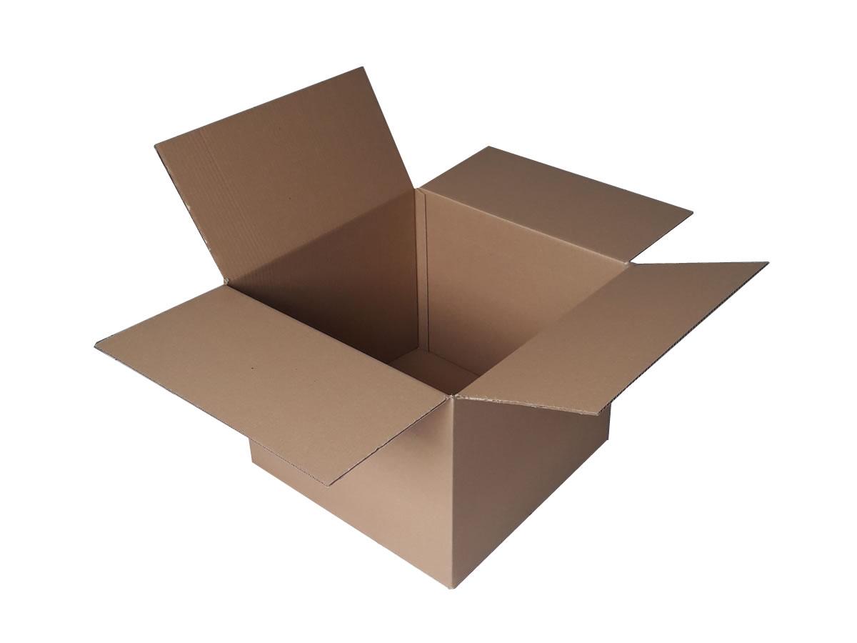 Lote de Caixas de Papelão 50x50x40 cm