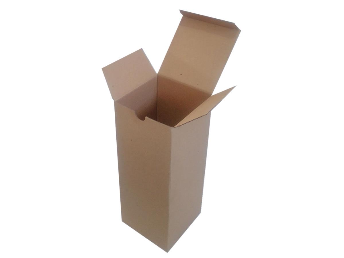 Lote de Caixas de Papelão 10x10x25 cm