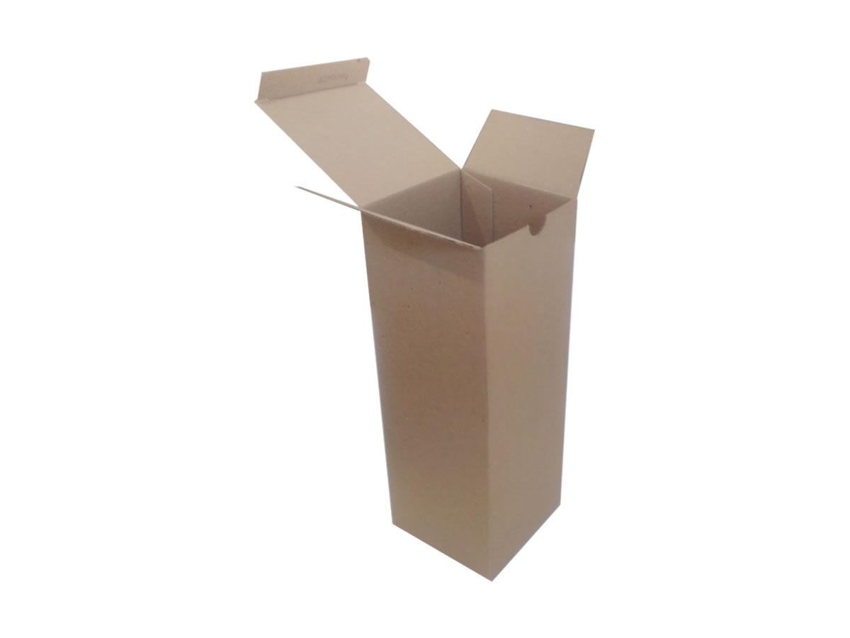 Lote de Caixas de Papelão 10x10x28 cm
