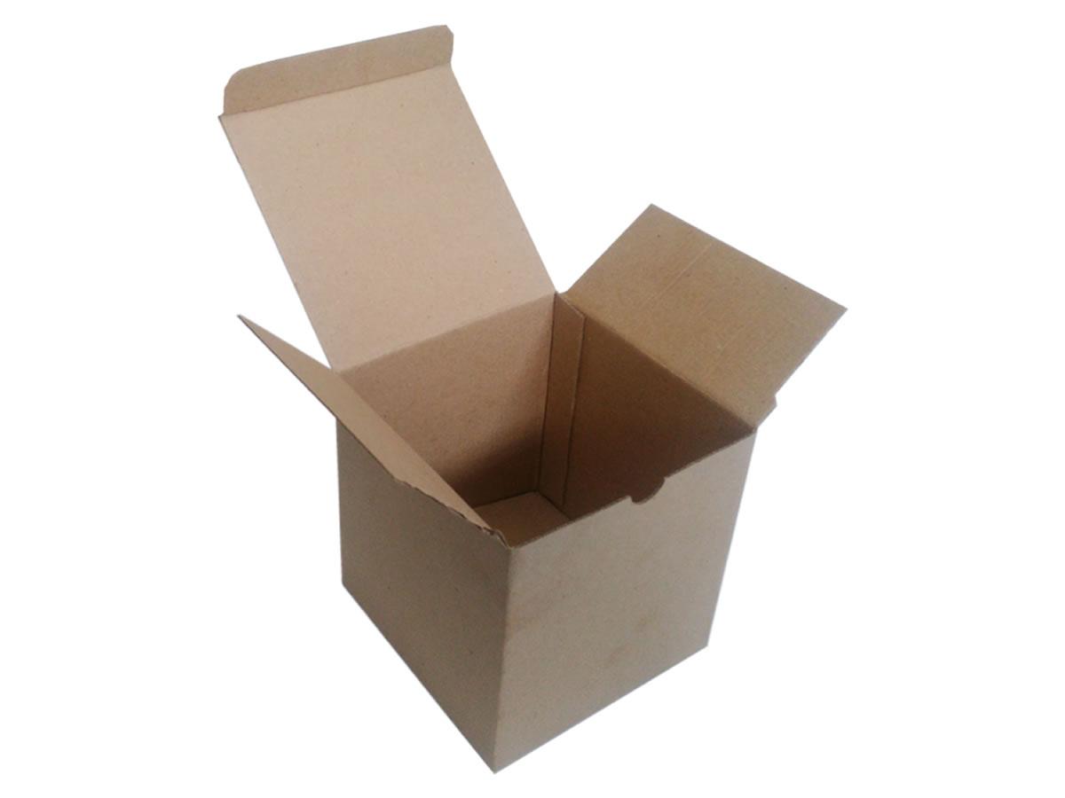 Lote de Caixas de Papelão 13x12x15 cm