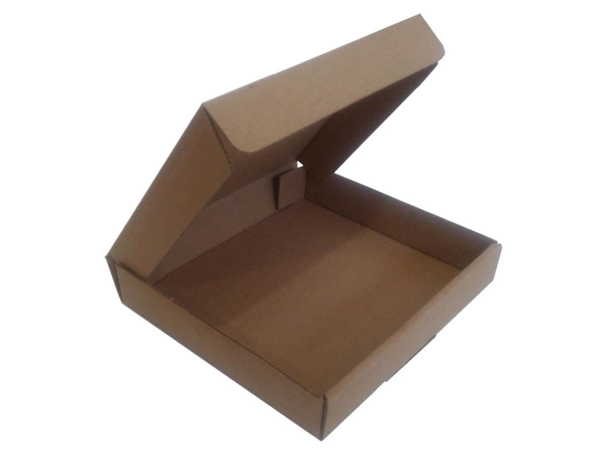 Lote de Caixas de Papelão 14x13x2,5 cm