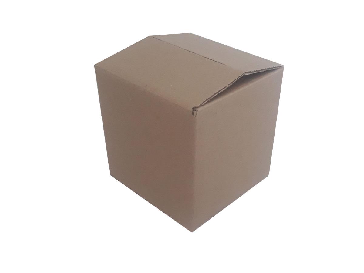 Lote de Caixas de Papelão 15x15x15 cm