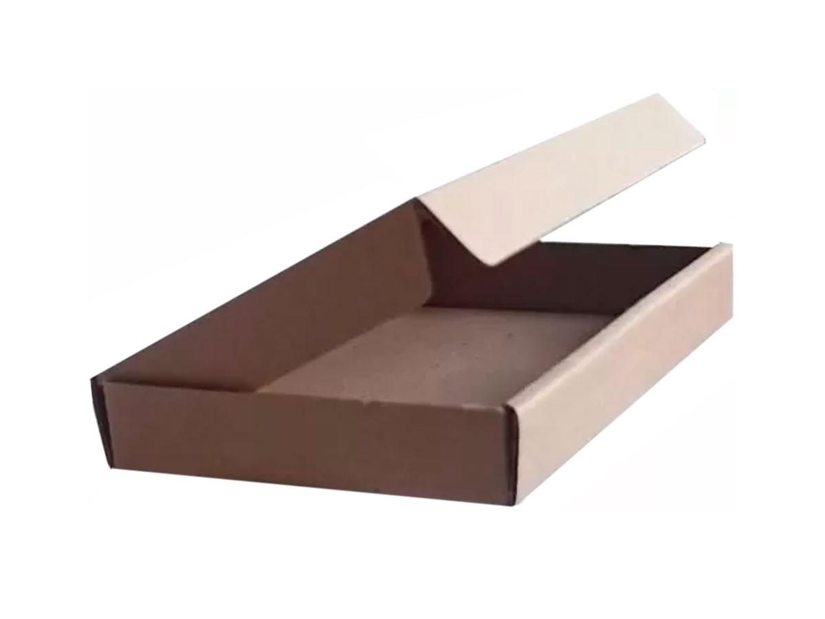 Lote de Caixas de Papelão 15x9x2 cm