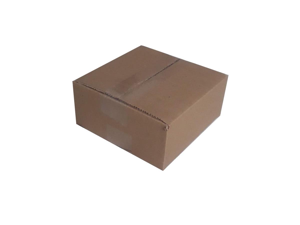Lote de Caixas de Papelão 17x17x7 cm