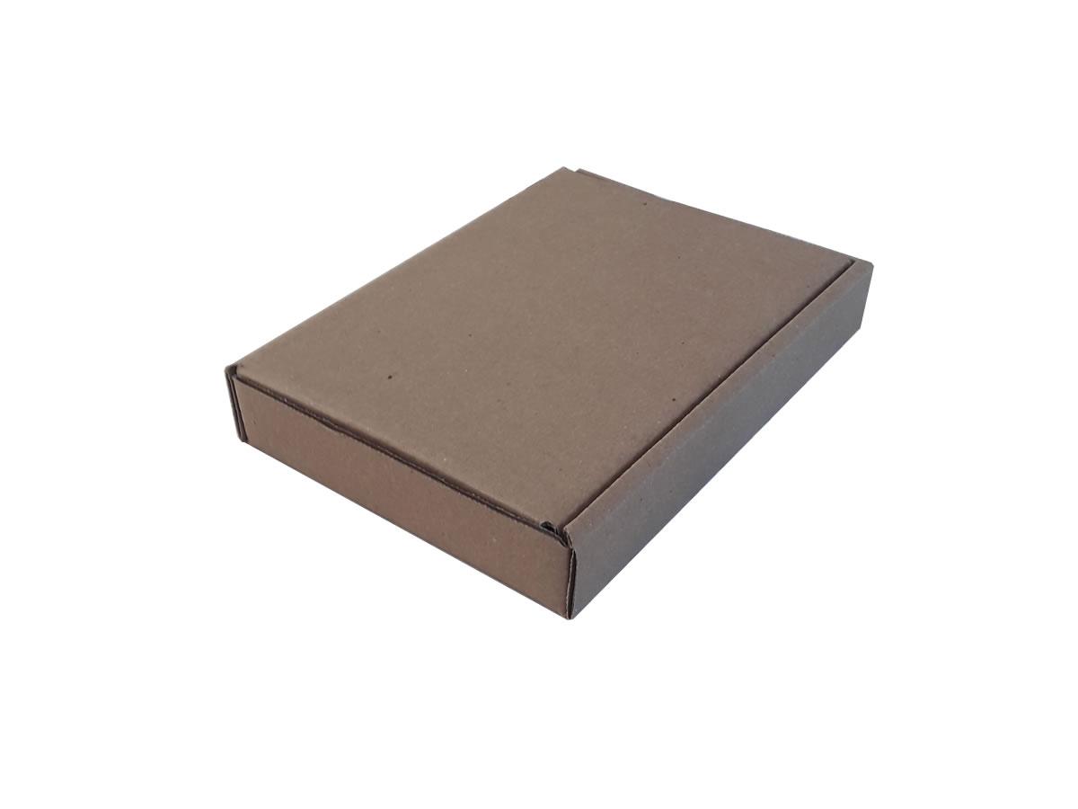Lote de Caixas de Papelão 21x15x3 cm