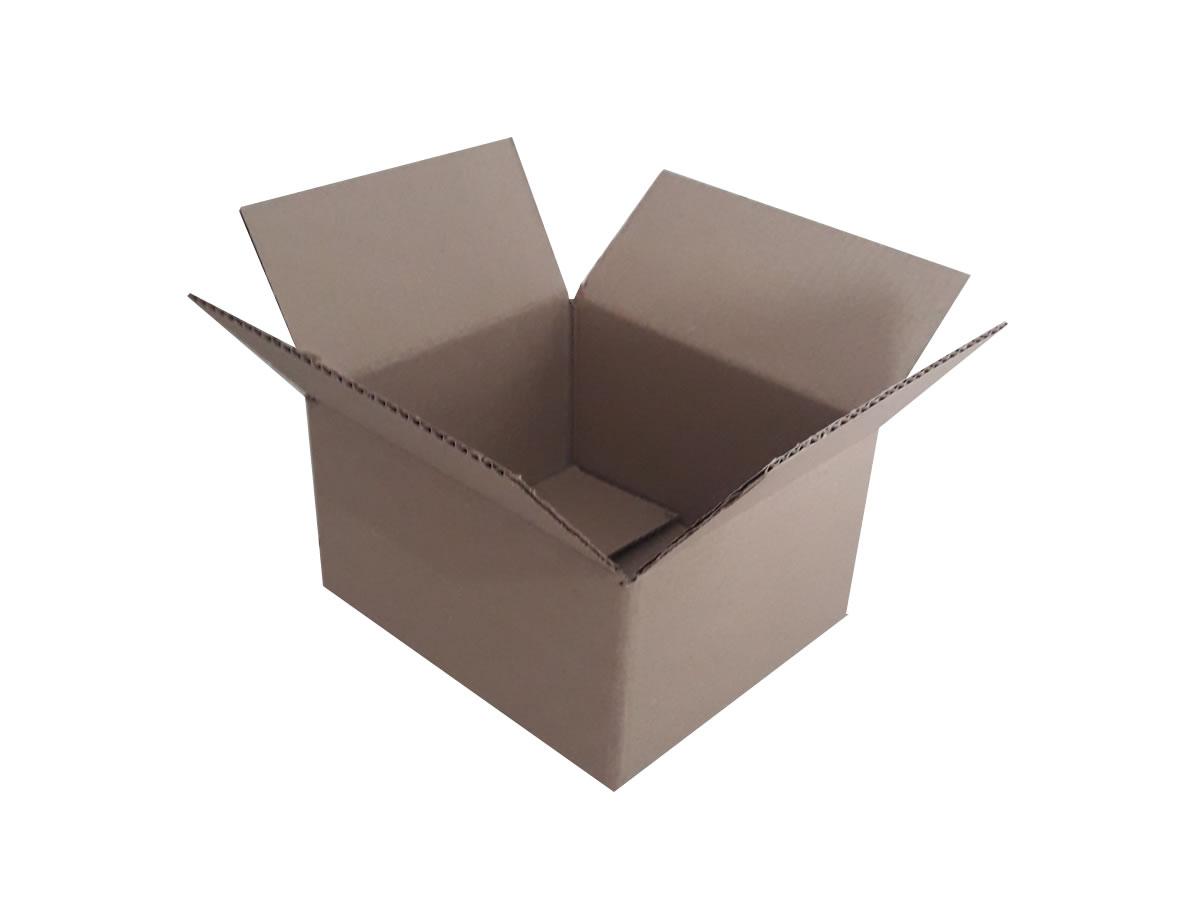 Lote de Caixas de Papelão 21x18x10 cm