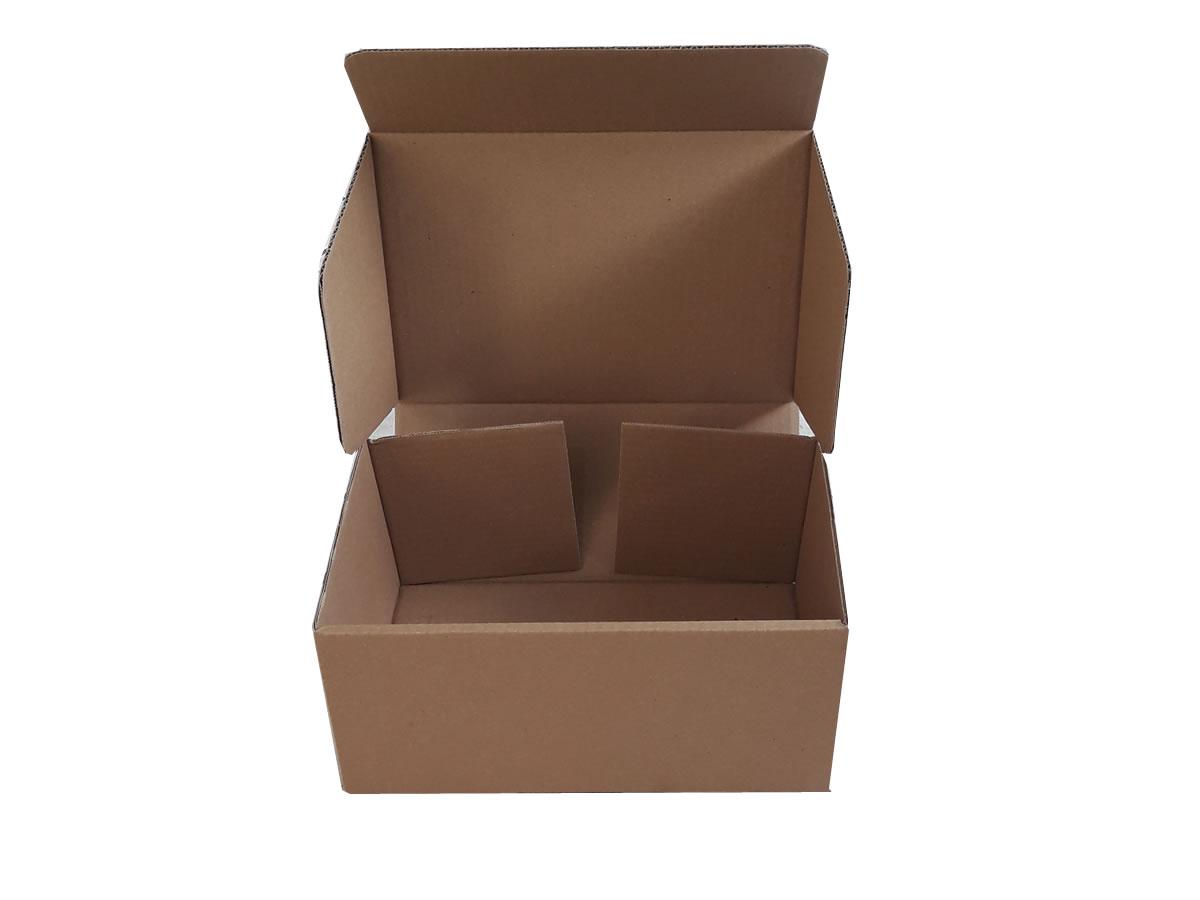 Lote de Caixas de Papelão 30x20x13,5 cm