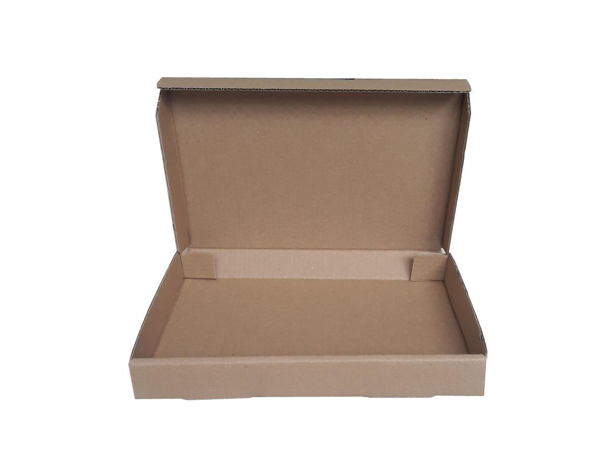 Lote de Caixas de Papelão 33x24x4 cm