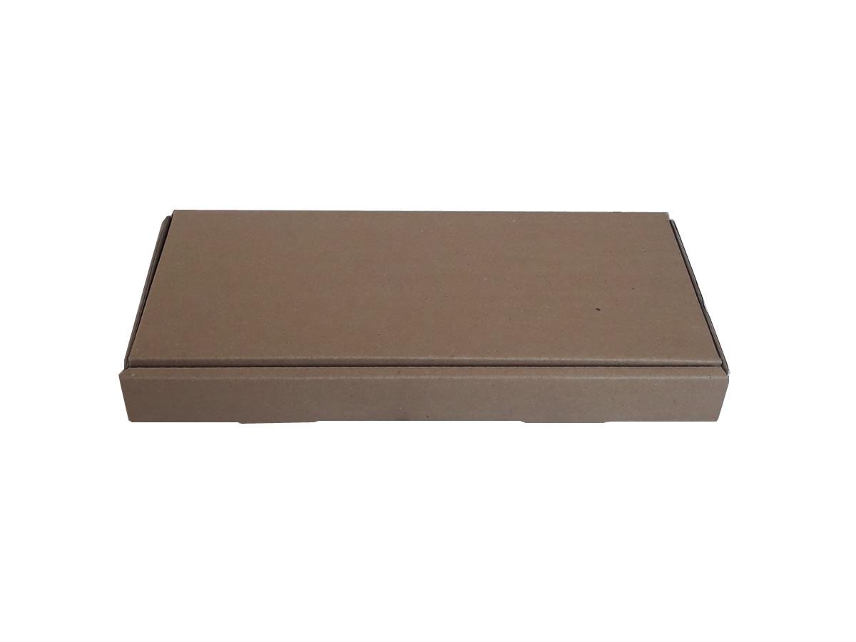 Lote de Caixas de Papelão 34x14x4 cm