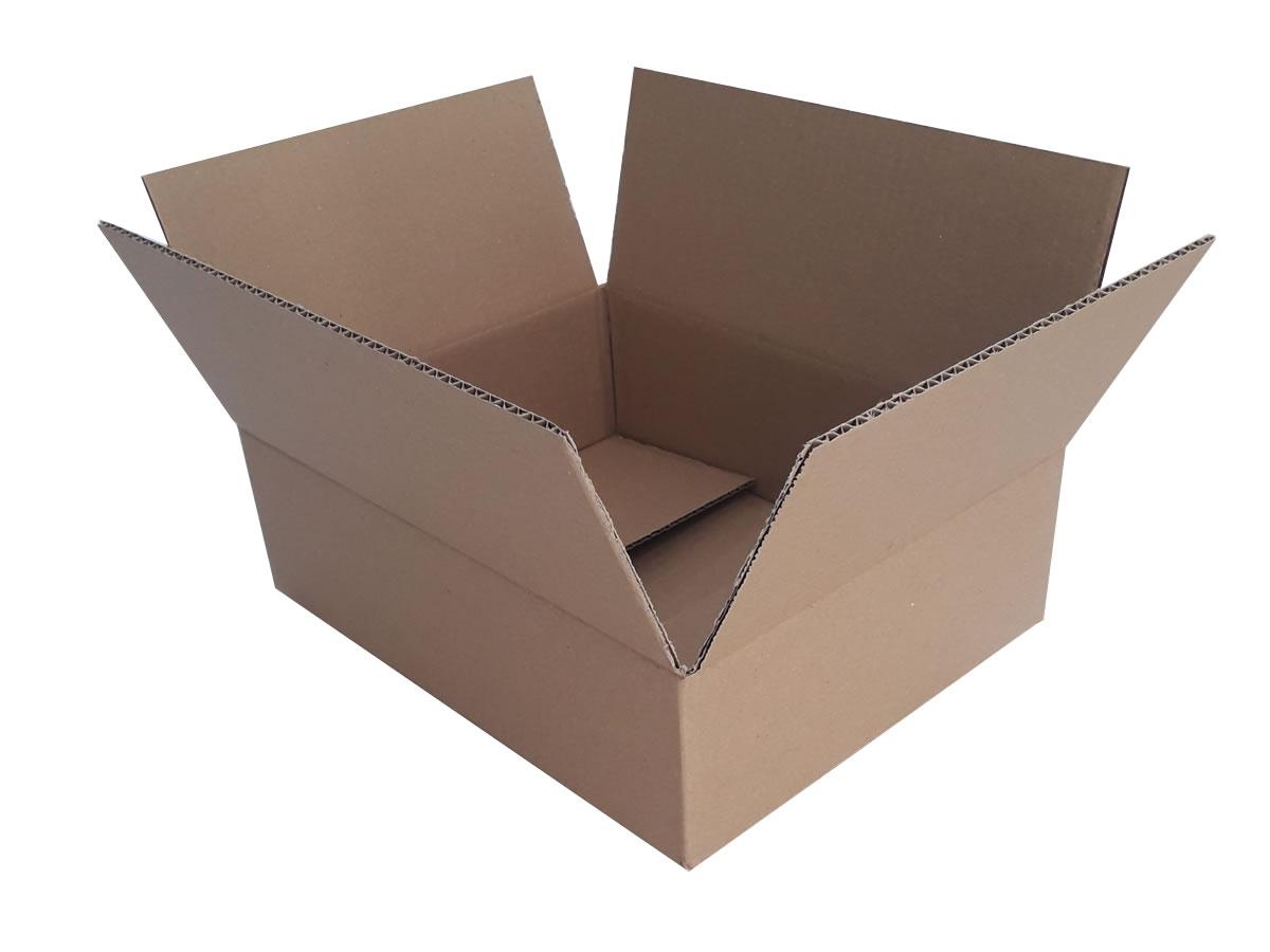 Lote de Caixas de Papelão 35x27x10 cm