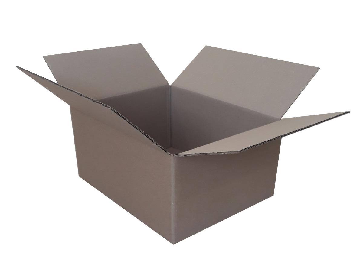 Lote de Caixas de Papelão 35x28x17 cm