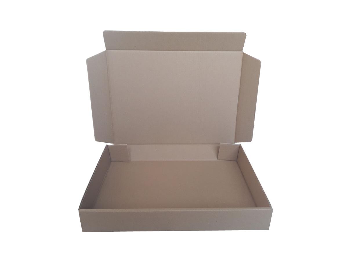 Lote de Caixas de Papelão 41x31x6 cm