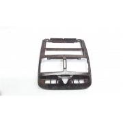 Moldura Central painel Radio Som Peugeot 307 Amadeirado original