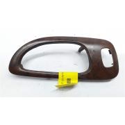 Moldura acabamento maçaneta puxador interno Peugeot 307 madeirado traseiro direito original
