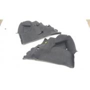 Par carpete forro moldado lateral porta malas Citroen C3 2003 2004 2005 2006 2007 2008 2009 2010 2011 2012 original
