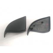 Par moldura acabamento interno retrovisor Citroen C3 2002-2012 original